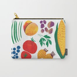 August Vegetables - Vegetable Series Carry-All Pouch