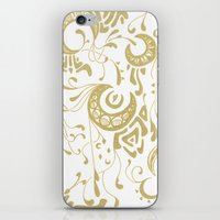 art nouveau iPhone & iPod Skins featuring Nouveau by CyberneticGhost