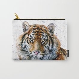Tiger watercolor Carry-All Pouch