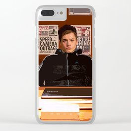 Eggsy Clear iPhone Case