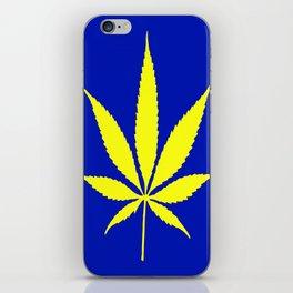 Weed Hash Bash Blue iPhone Skin