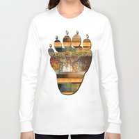 western Long Sleeve T-shirts featuring WESTERN GOLD by VIAINA