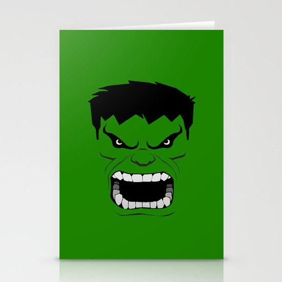 Minimalist Hulk Stationery Cards
