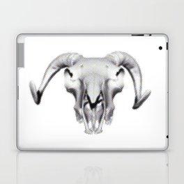 RAM SKULL PIXEL Laptop & iPad Skin