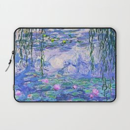 Claude Monet Water Lilies French Impressionist Art Laptop Sleeve