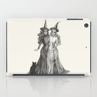 coven iPad Cases featuring The Witches by Caitlin McCarthy
