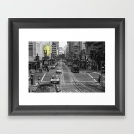 Unseen Monsters of San Francisco - Chubby Widsets Framed Art Print