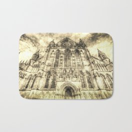 York Minster Cathedral Vintage Bath Mat
