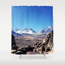 wide horizons Shower Curtain