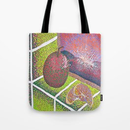 In the Kitchen: Fruit Sitting on the Windowsill  Tote Bag