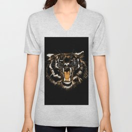 Roar Tiger Unisex V-Neck