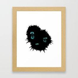 Attack the block (white version) Framed Art Print