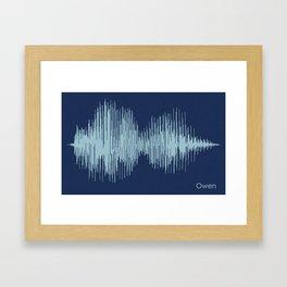 Owen Framed Art Print