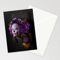 Violet Harvest Muertita Stationery Cards