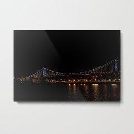 Bridge to Philly Metal Print