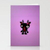 minnie Stationery Cards featuring Minnie by Karen Strempel