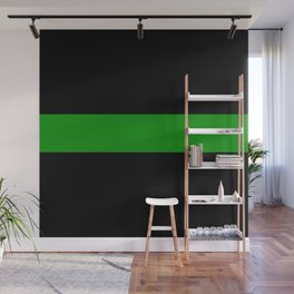 The Thin Green Line Wall Mural