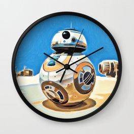 BB8 Wall Clock