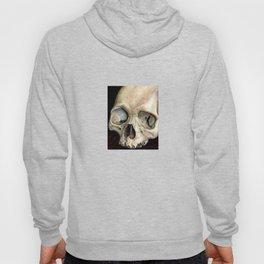 moldy tan skull Hoody