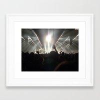 concert Framed Art Prints featuring Concert by amollt