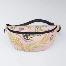#Christmas #Pattern #Pine #Snow 4 Fanny Pack