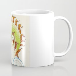 A happy dragon Coffee Mug