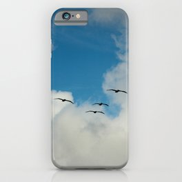 Flying Into The Storm iPhone Case