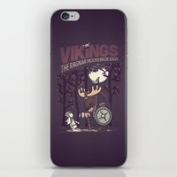 vikings iPhone & iPod Skins featuring Vikings by hugraphic