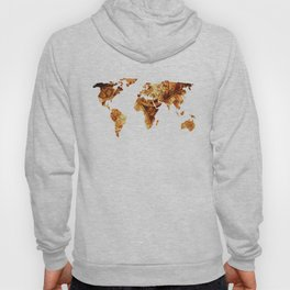 Vintage World Antique Star Map Hoody