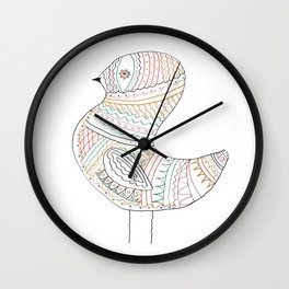 GOLDEN BIRD Wall Clock