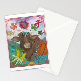 Year of the Ox Stationery Cards