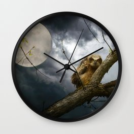 The seer of souls Wall Clock