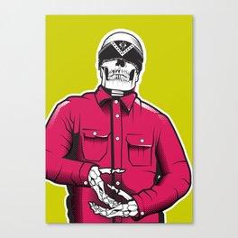 Vato Loco Skull Canvas Print