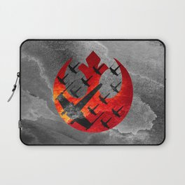 Star Wars Wraith Squadron in the Clouds Laptop Sleeve