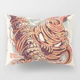The Kaiju Spaghetti Pillow Sham
