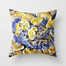 JEWELS OF THE FOREST Throw Pillow