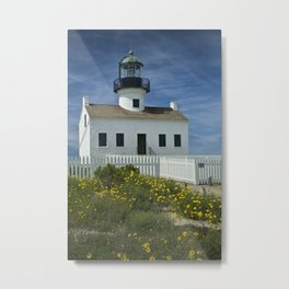 Cabrillo National Monument Lighthouse Metal Print