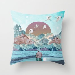 Nature atmosphère Throw Pillow