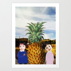 WE FOUND IT Art Print