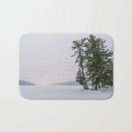 Beautiful Winter Bath Mat