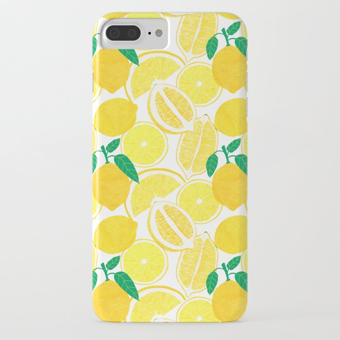 lemon harvest iphone case
