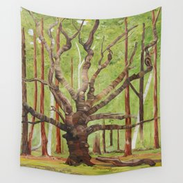 Ancient Oak Wall Tapestry