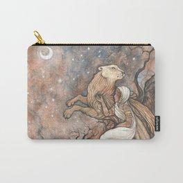 La Lionne Carry-All Pouch
