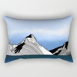 Mitre Peak Rectangular Pillow