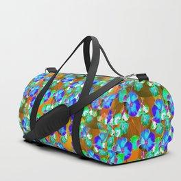 Floral Vine - Gold Duffle Bag