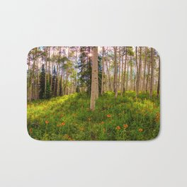 Crested Butte, Kebler Pass in Spring - Panorama by OLena Art for #society5 Bath Mat