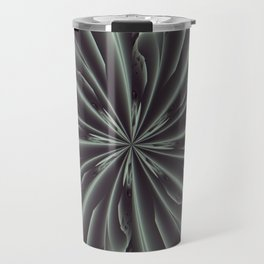 Out of the Darkness Fractal Bloom Travel Mug