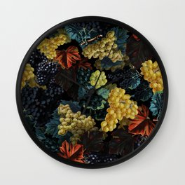 Delicious Harvest Wall Clock