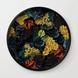 Delicious Harvest Wall Clock