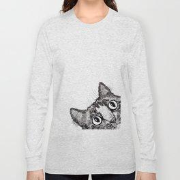 Hey! Cat! Long Sleeve T-shirt